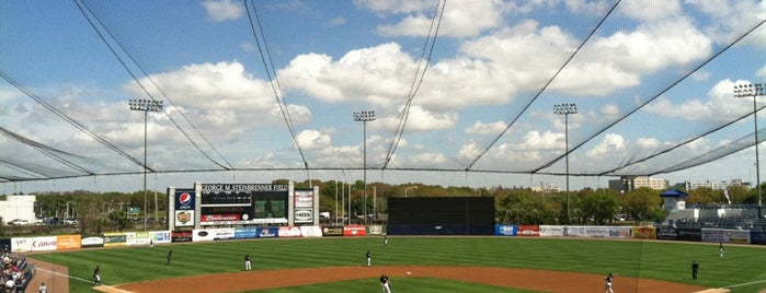 George M Steinbrenner Field is one of ENTERTAINMENT.