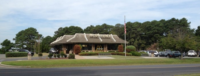 McDonald's is one of Chincoteague.