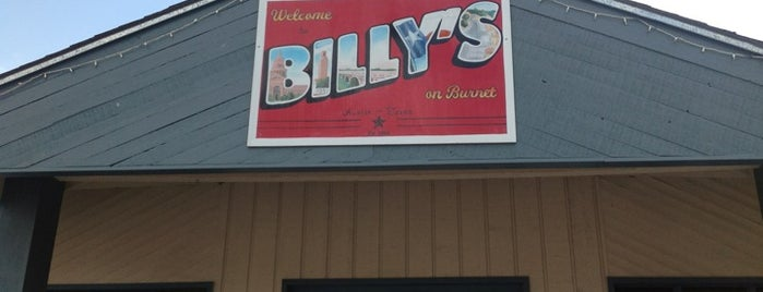 Billy's On Burnet is one of Austin, TX.