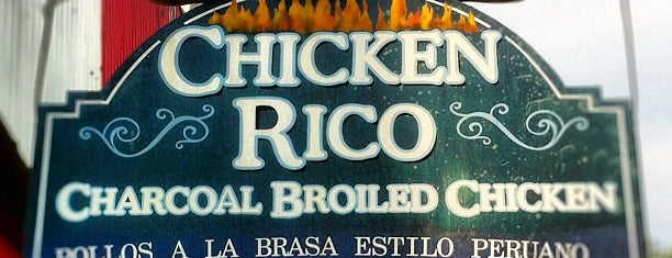 Chicken Rico is one of Baltimore Chowdown.