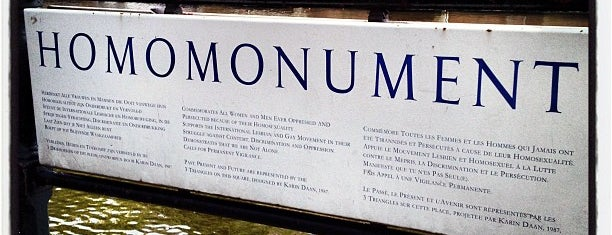 Homomonument is one of Amsterdam 🇳🇱.