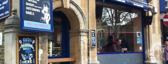 George & Danver is one of Oxford Highlights.