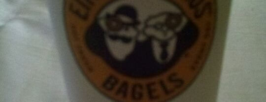 Einstein Bros Bagels is one of Restaurants/Eateries I Recommend.