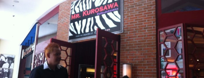 Mr. Kurosawa is one of Orte, die Rheena gefallen.
