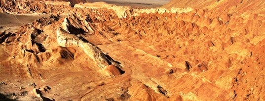 Valle de La Luna is one of Chile.