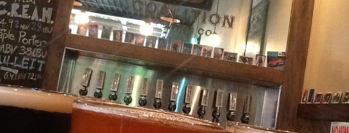 Coalition Brewing Co. is one of Tempat yang Disukai Darin.