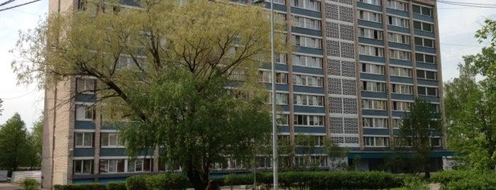 Межвузовский студенческий городок is one of Lugares favoritos de Dotsenko_K.