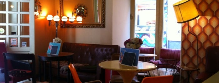 Lolina Vintage Café is one of ¡Mmmmmadrid!.