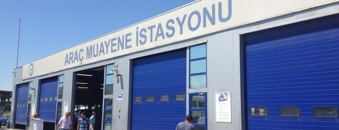 TÜVTÜRK Araç Muayene İstasyonu is one of Ebruさんのお気に入りスポット.