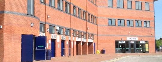 เดอะฮอว์ทอนส์ is one of Barclays Premier League Grounds & Stadiums 2013/14.