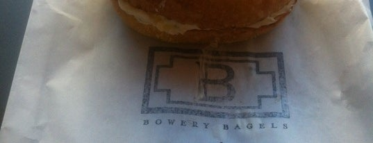 Bowery Bagels is one of PDX recommended.