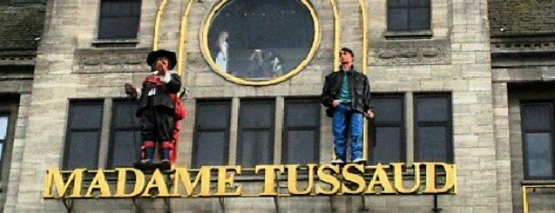 Madame Tussauds is one of Amsterdam.