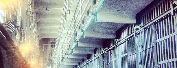 Alcatraz Cell House is one of Lugares favoritos de Jess.