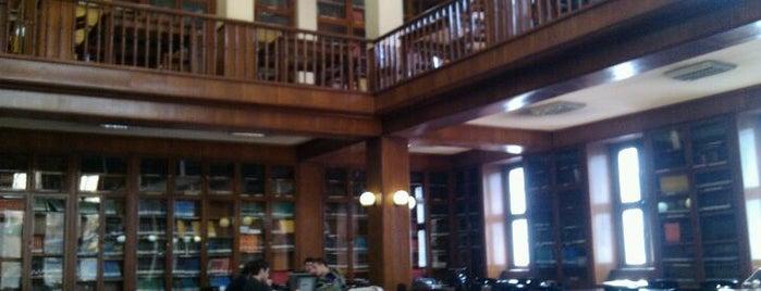 İTÜ Ratip Berker Kütüphanesi is one of Istanbul Kütüphaneleri.