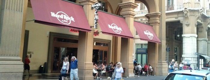 Hard Rock Cafe Florence is one of Hard Rock Cafes I've Visited.