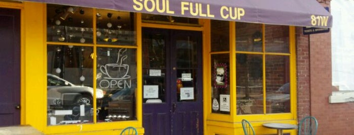 Soul Full Cup Coffeehouse is one of Locais curtidos por Eric Thomas.