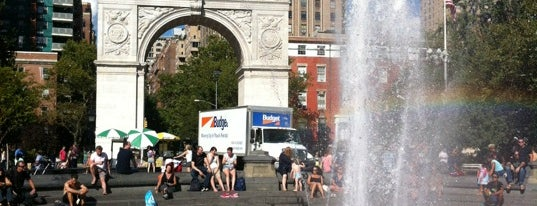 Washington Square Park is one of NYC Favourites.