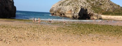 Playa de las Cuevas del Mar is one of Playas de España: Principado de Asturias.