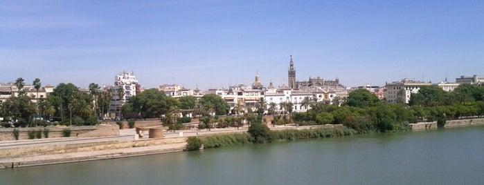 El Faro de Triana is one of Terrazas Sevilla.