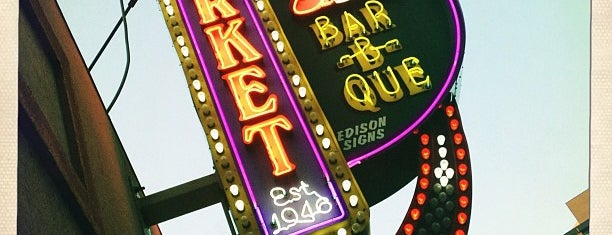 Market Bar-B-Que is one of Jen : понравившиеся места.