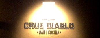 Cruz Diablo is one of Donde ir a tomar.