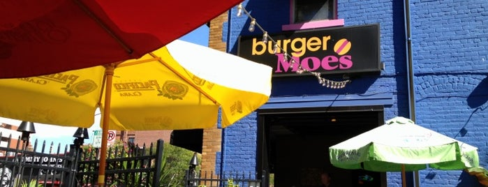 Burger Moe's is one of Downtown Saint Paul Restaurants.