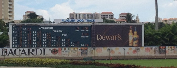 Flagler Dog Track is one of Locais salvos de Richard.