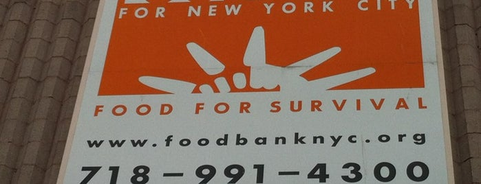Food Bank for New York City is one of Guide to New York's best spots.