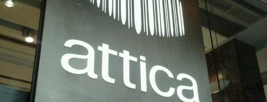 Attica is one of Shopping.