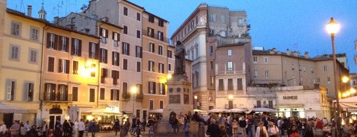 Campo de' Fiori is one of Top 100 Check-In Venues Italia.