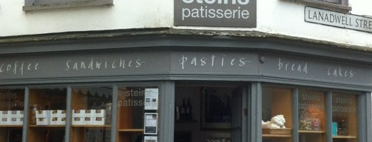 Stein's Patisserie is one of Cornwall by OJM.