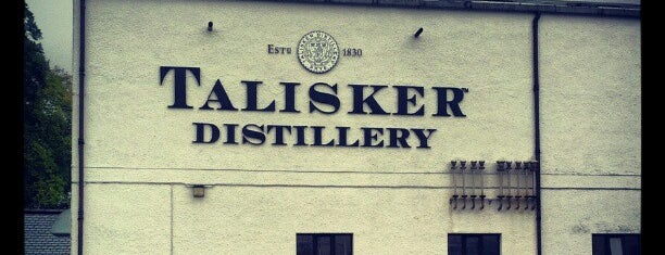 Talisker Distillery is one of Single Malt Deistilleries.