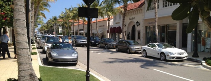 Worth Avenue is one of Outdoor faves in Palm Bch.