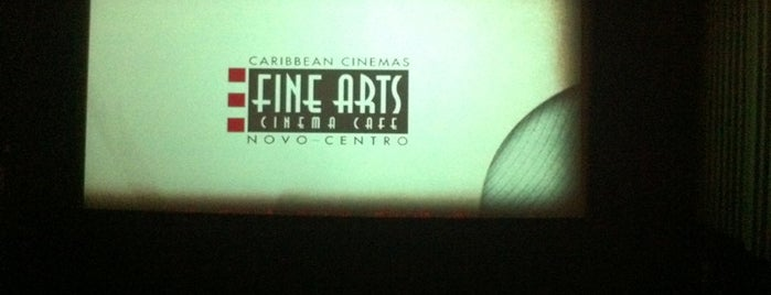 Fine Arts Cinema Cafe is one of Places to go.