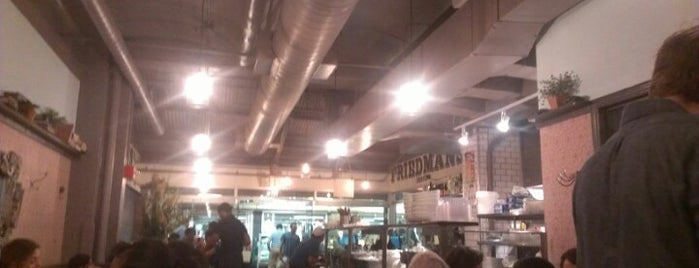 Friedman's Lunch is one of Where To Eat Gluten-Free.