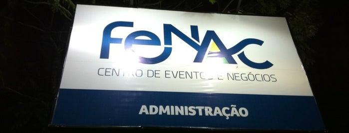 Fenac - Centro de Eventos e Negócios is one of Lugares favoritos de Vera.