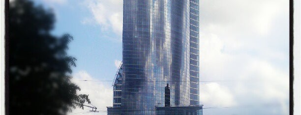 "Swedbank ""Ķīpsala""   Swedbank centrālā ēka is one of Foursquare LV BrandPages HQ."