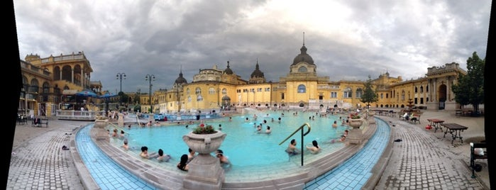 Thermes Széchenyi is one of Lieux qui ont plu à Paul.