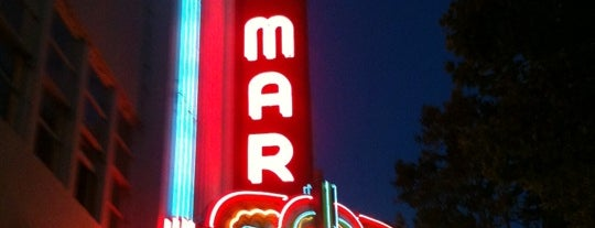 The Del Mar Theatre is one of Experienced Places (Non-food).