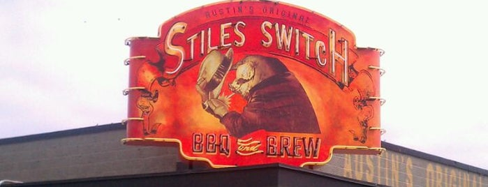 Stiles Switch BBQ & Brew is one of Must-visit BBQ in Texas.