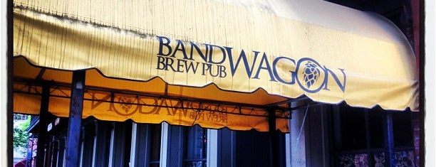Bandwagon Brewpub is one of Fingerlakes Transport an Tour Service.