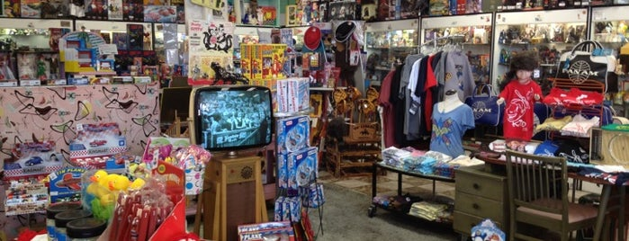 Big Kid Collectable Toy Mall & Retro Store is one of JNETs Hip and Happy LA Places.