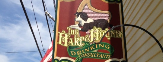 Harp & Hound Pub is one of Favorites in CT.
