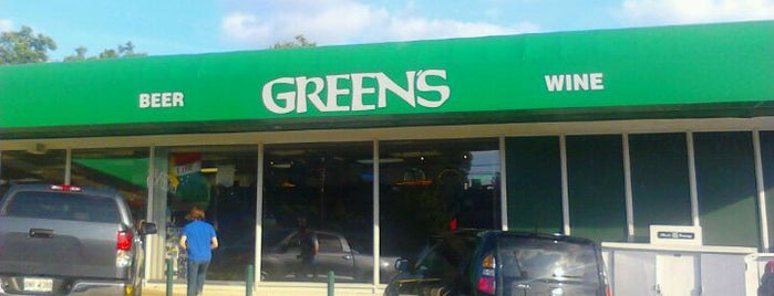 Green's Beverages - Ponce De Leon is one of Tempat yang Disukai Chris.