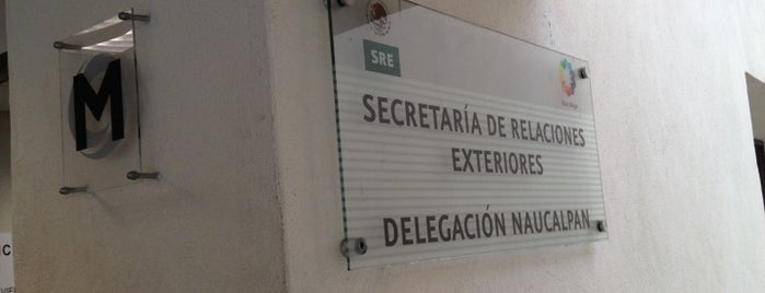 SRE Naucalpan is one of Places visited.
