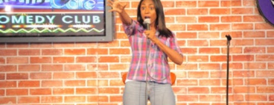 The HaHa Comedy Club & Cafe is one of JNETs Hip and Happy LA Places.