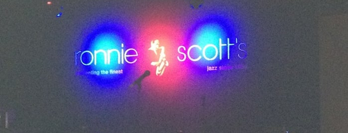 Ronnie Scott's Jazz Club is one of Tour Locales.
