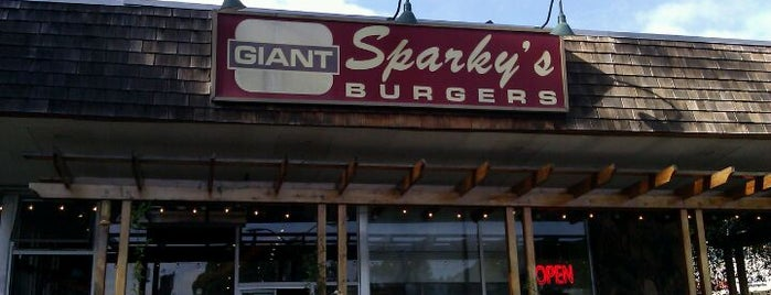 Sparky's Giant Burgers is one of Oakland eats wishlist.