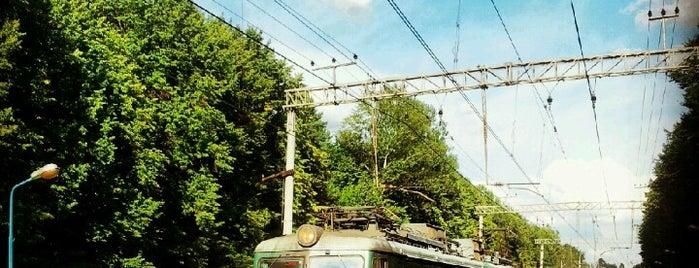 Ж/д платформа Переделкино is one of Москва и загородные поездки.