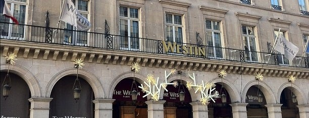 The Westin Paris – Vendôme is one of Mes restaurants favoris à Paris 2/2.